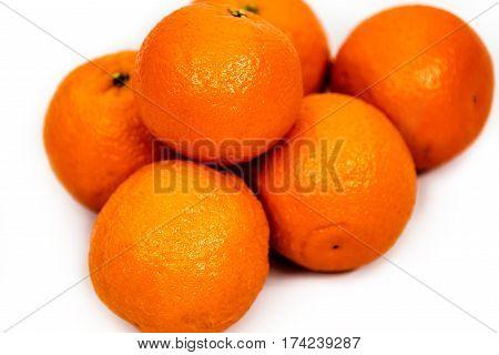 Orange, Fruit Orange, Oranges on white background, tropical fruits oranges