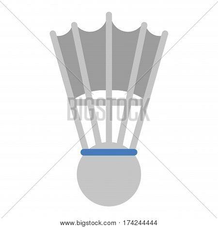 badminton shuttlecock sport game vector illustration eps 10