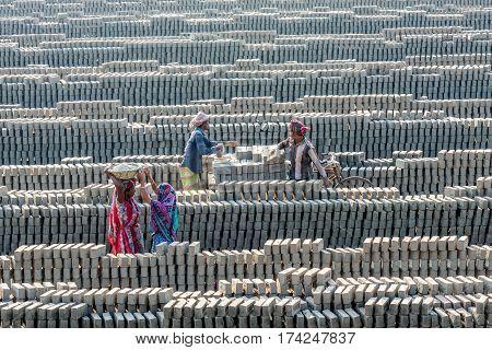 Brick Field Workers