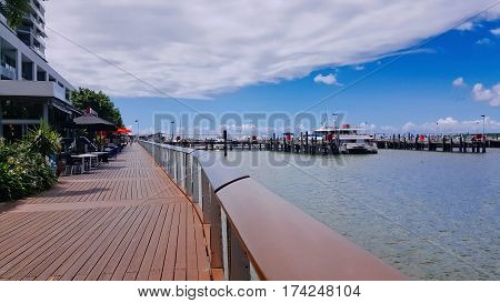 Cairns Australia pier broadwalk popular tourist walk