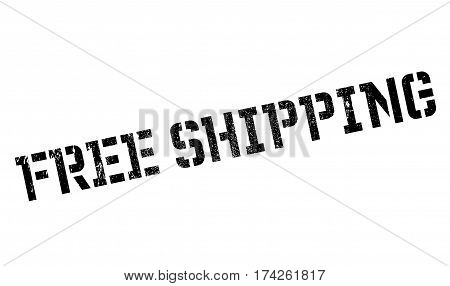 Free Shipping rubber stamp. Grunge design with dust scratches. Effects can be easily removed for a clean, crisp look. Color is easily changed.