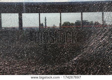 Damaged Glass Texture