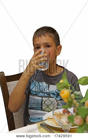 The Boy Has Dinner