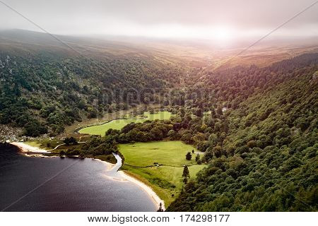 Lough Tay Lake