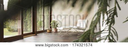 Sofa In Modern House