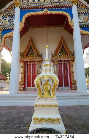 Small Shrine in front of a Temple Thailand