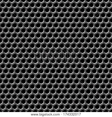 Seamless comb background pattern.
