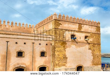 Fortifications of Kasbah of the Udayas in Rabat - Morocco