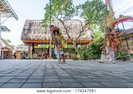 Barong And Kris Dance