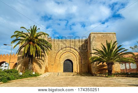 Bab er-Rouah gate in Rabat, the capital of Morocco