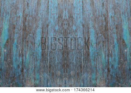 Blue wood textrue background use for design