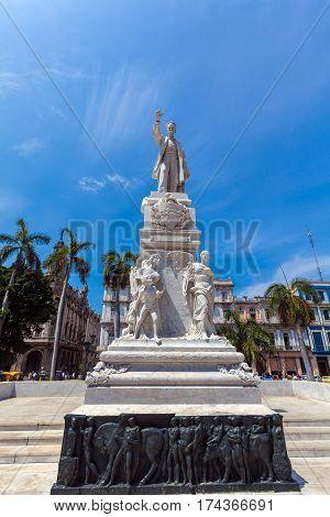 Monument Of Carlos Manuel De Cespedes, Havana