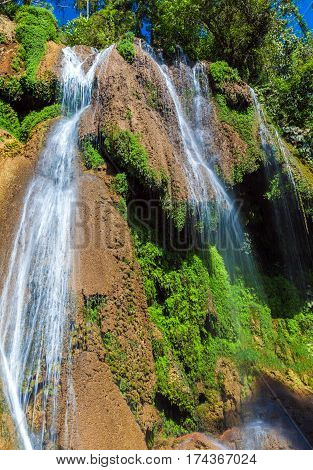 Waterfalls in Topes de Collantes  in Cuba