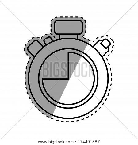 isolated chronometer timer icon vector illustration graphic design