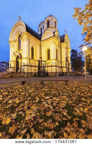 St. Jacob Church in Czestochowa. Czestochowa Silesia Poland.