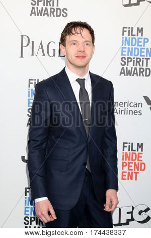 LOS ANGELES - FEB 25:  Mark O'Brien at the 32nd Annual Film Independent Spirit Awards at Beach on February 25, 2017 in Santa Monica, CA