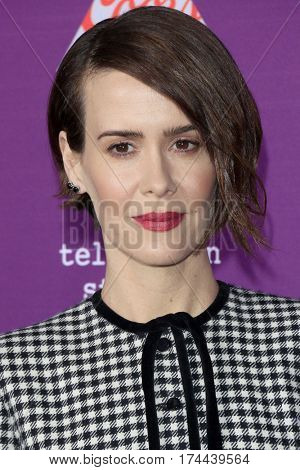 LOS ANGELES - MAR 1:  Sarah Paulson at the