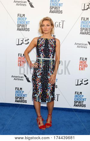 LOS ANGELES - FEB 25:  Lucy Walker at the 32nd Annual Film Independent Spirit Awards at Beach on February 25, 2017 in Santa Monica, CA