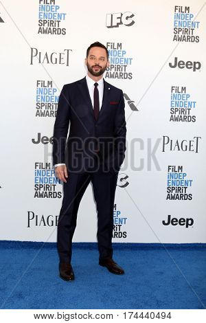 LOS ANGELES - FEB 25:  Nick Kroll at the 32nd Annual Film Independent Spirit Awards at Beach on February 25, 2017 in Santa Monica, CA