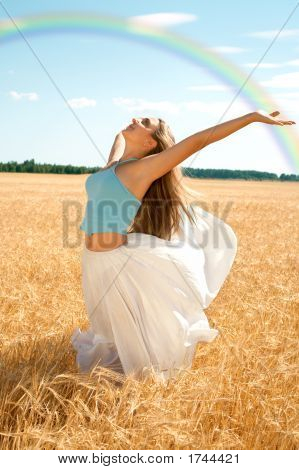 Fresh Wind And Big Rainbow