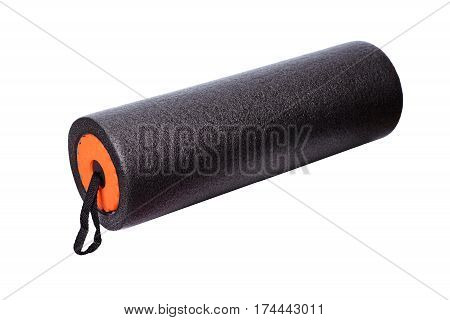 Foam Roller Gym Fitness Equipment Isolated On White Background F