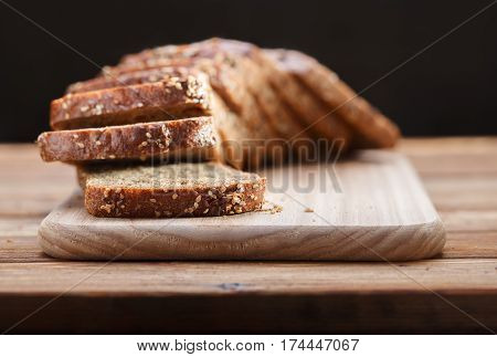 Rye Bread With Grains