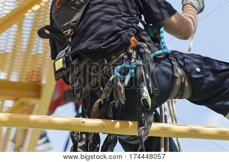 Rope Access Irata Worker