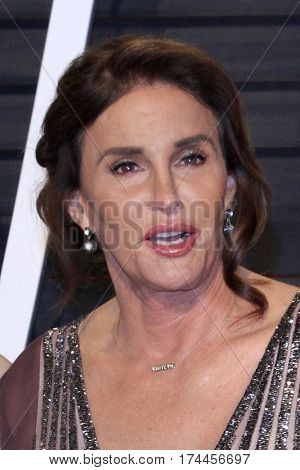 LOS ANGELES - FEB 26:  Caitlyn Jenner at the 2017 Vanity Fair Oscar Party  at the Wallis Annenberg Center on February 26, 2017 in Beverly Hills, CA