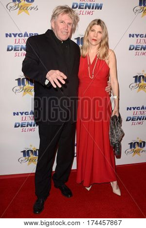 LOS ANGELES - FEB 26:  Gary Busey, wife at the 27th Annual Night of 100 Stars Oscar Viewing Gala at the Beverly Hilton Hotel on February 26, 2017 in Beverly Hills, CA