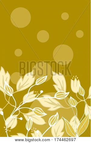 Vector set with vintage flowers. Useful for prints, fabric, background