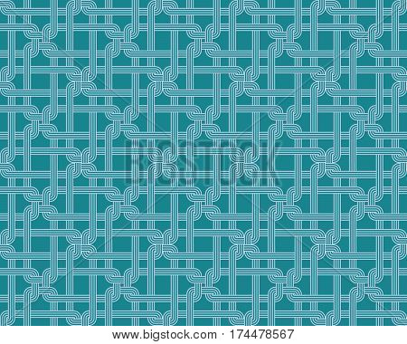 Seamless pattern repeatable background for website wallpaper textile printing texture editable in vector