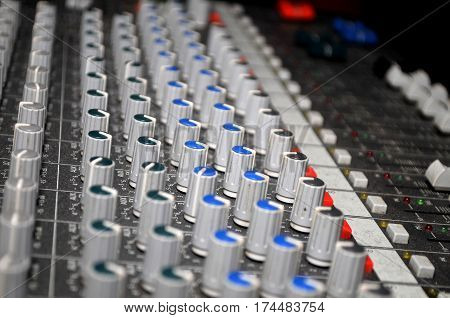 Isolated mixer for DJ at the wedding, Novi Sad
