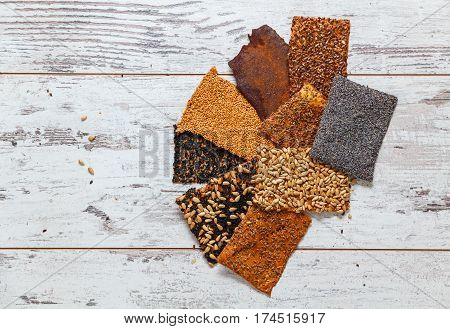 Healthy Seed Crackers 1