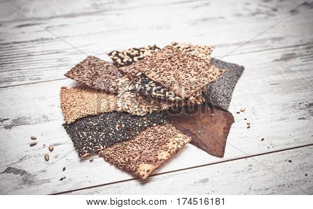 Seed Crackers Toned