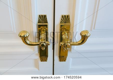 Golden Door Handle