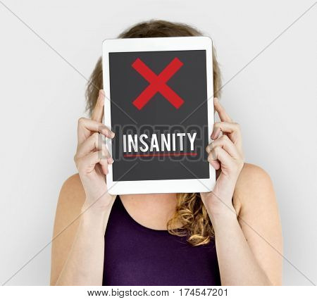 Insanity Mad Psycho Crazy Irresponsibility Mental Health