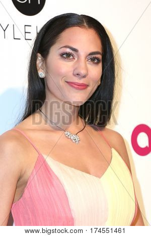 LOS ANGELES - FEB 26:  Inbar Lavi at the 25the Annual Elton John Academy Awards Viewing Party at the  City of West Hollywood Park on February 26, 2017 in West Hollywood, CA