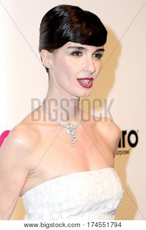 LOS ANGELES - FEB 26:  Paz Vega at the 25the Annual Elton John Academy Awards Viewing Party at the  City of West Hollywood Park on February 26, 2017 in West Hollywood, CA