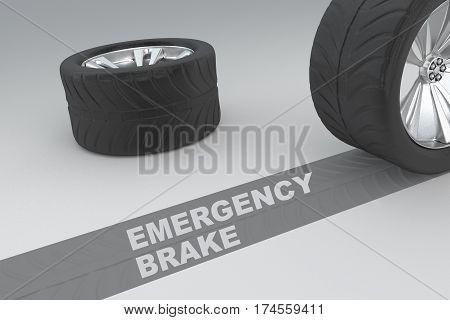 Emergency Brake Safety Concept