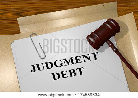Judgment Debt Concept