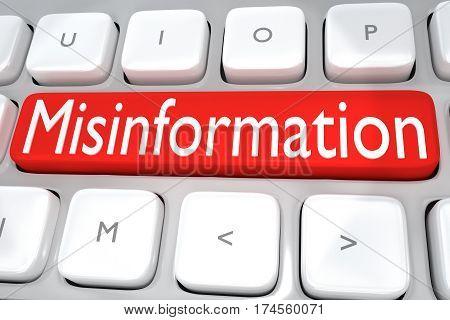 Misinformation - Media Concept