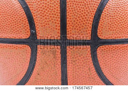 Texture Basketball Basket ball isolated on over white background