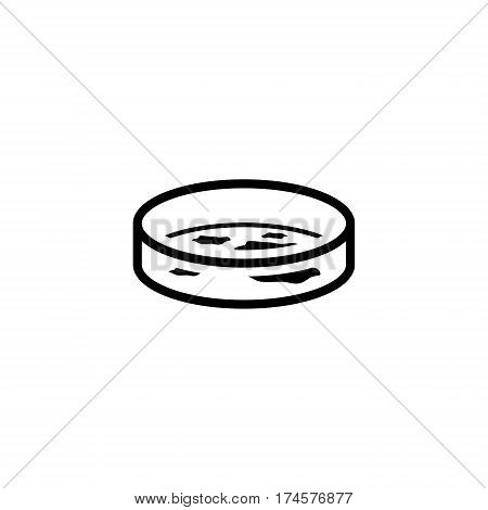 Bacteriology Icon. Flat Design Isolated Illustration. Test