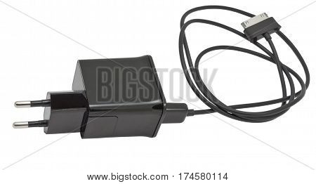 The charging device for phone isolated on white