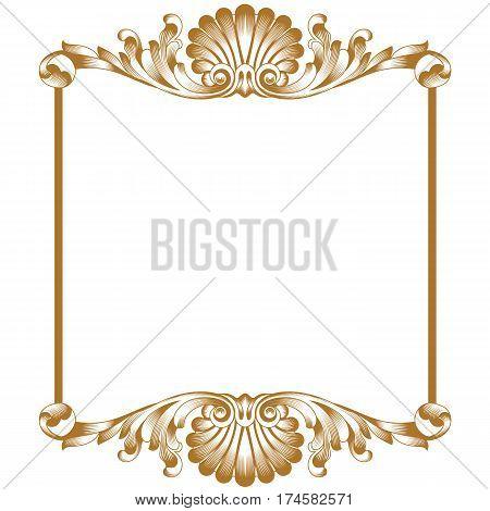 Golden vintage border frame engraving with retro ornament pattern in Golden vintage ornament pattern frame, border ornament pattern frame, engraving ornament pattern frame, ornament ornament pattern frame, pattern ornament frame, antique ornament pattern