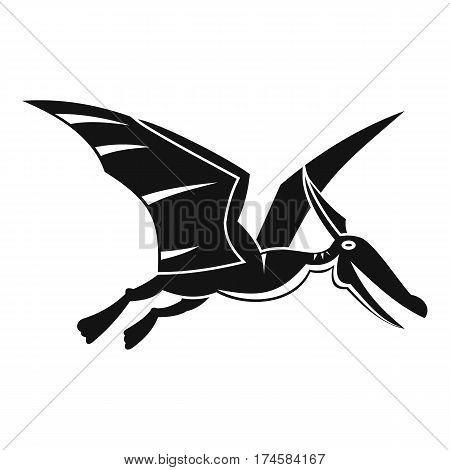 Pterosaurs dinosaur icon. Simple illustration of pterosaurs dinosaur vector icon for web