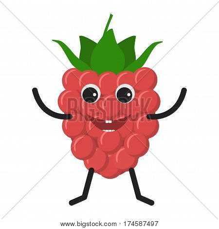 Raspberry Character Icon