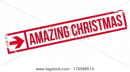 Amazing Christmas rubber stamp. Grunge design with dust scratches. Effects can be easily removed for a clean, crisp look. Color is easily changed.