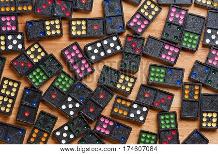 The Domino Gaming Pieces