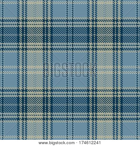 Tartan Seamless Pattern Background. Black Blue Blue and White Plaid Tartan Flannel Shirt Patterns. Trendy Tiles Vector Illustration for Wallpapers.